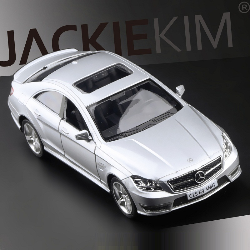 High Simulation Exquisite Diecasts & Toy Vehicles: RMZ City Car Styling CLS 63 AMG 1:36 Alloy Diecast Car Model Pull Back Cars