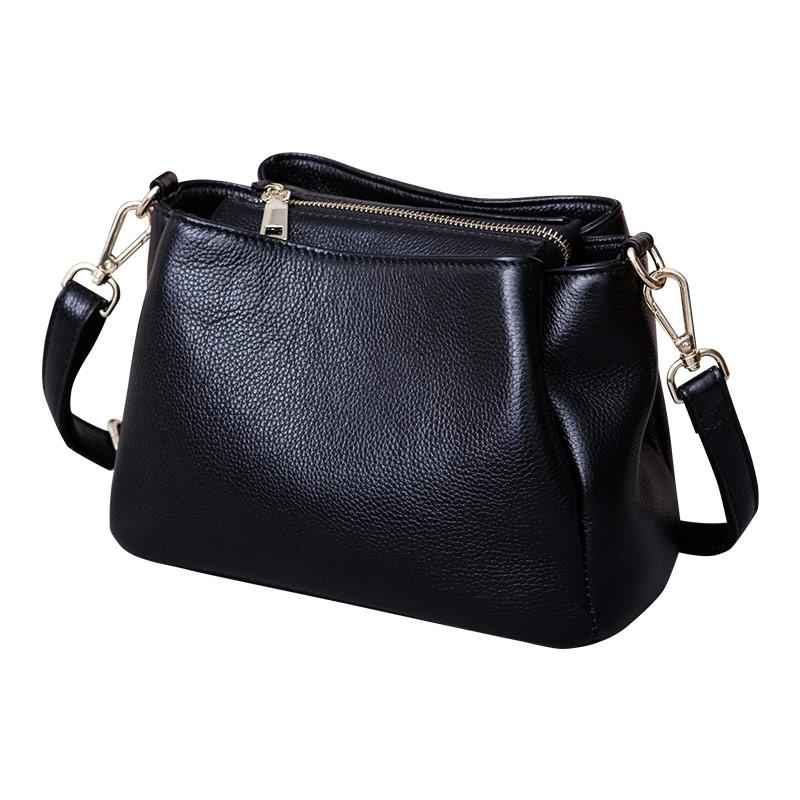 Fashion Genuine Leather Women's Bag  Small Crossbody Bag Ladies Casual Shoulder Bag Female Luxury Handbag Party Purse Tote Bags