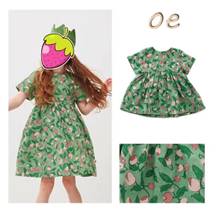 Pre-sale ZMHYAOKE-OE 2020 Summer Baby Girls Casual Dresses Fashion Beach Christmas Dress Girl Thanksgiving Girls Princess Dress