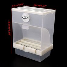 Automatic Birds Feeder Poultry Feeding Tool Fodder Food Container Splashproof Storage For Pigeon Parrot Chicken 50JD
