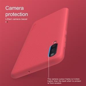 Image 5 - Per Samsung Galaxy A51 A71 A21S A50 A50S A30S A40 A60 A70 Caso Nillkin Glassata Shield Dura del PC Della Copertura Posteriore per Samsung Caso di A51