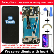 2312*1080 AAA Quality LCD With Frame For HUAWEI P30 Lite Lcd Display Screen For HUAWEI P30 Lite Screen Nova 4e MAR LX1 LX2 AL01
