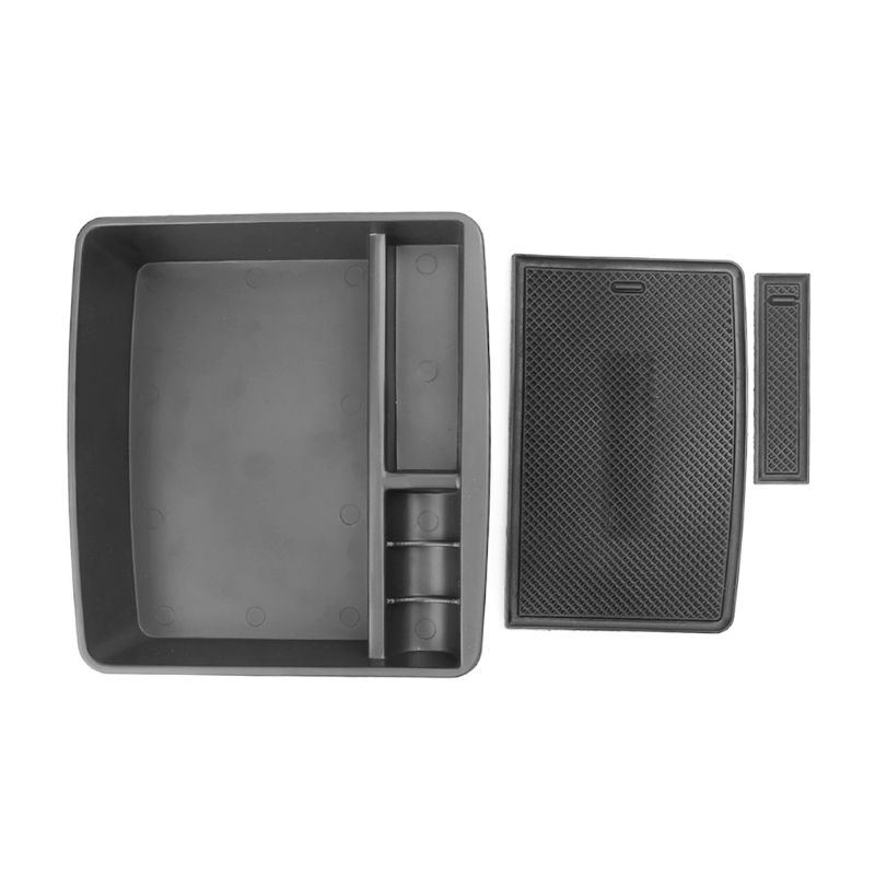 Center Console Organizer Tray Armrest Storage Box For Toyota Land Cruiser Prado FJ150 Lexus <font><b>GX400</b></font> GX460 2004-2018 Maximize image