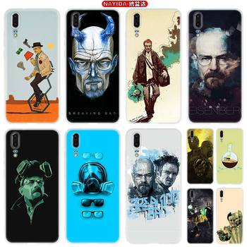 Phone Case For Huawei P40 P10 P20 P30 Lite Plus Pro P8 P9 Lite P Smart Z 2019 Cover Star Breaking Bad Chemistry Walte image
