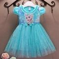 Mädchen Kleider Sommer Baby Kind Kleidung Prinzessin Anna Elsa Kleid Schnee Königin Cosplay Kostüm Neue Jahre Party Kinder Kleidung