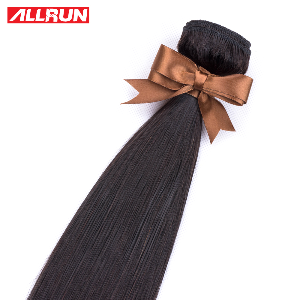 Hbe52e5dc9ae241649183f54785bc99753 Allrun Malaysian Straight Hair Bundles With Frontal Closure 13*4 Human Hair Bundles With Closure Non-Remy Hair Low Ratio