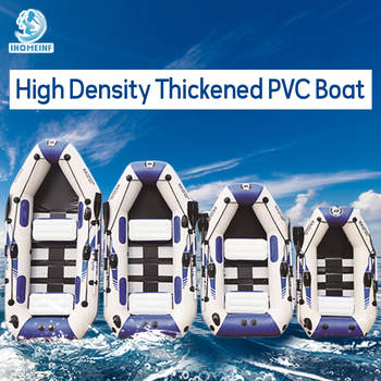 inflatable boat 0.9MM PVC fishing 3 layer laminated wear-resistant Air kayak rubber Rowing for Outdoor Fishing Sports