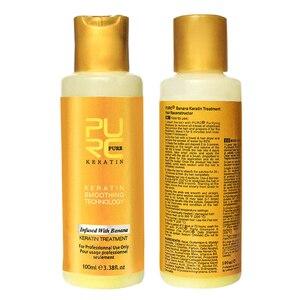12% Keratin Hair Repair Treatment Hair Straighten Purifying Shampoo for straightening damage hair Supple Smooth Hair Care TSLM2