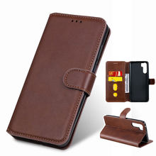Case For OPPO Realme 5 6 Pro Case Leather Wallet Cover Realme 3i 3 Pro K3 K5 X2 C1 Q Phone Case RENO 2 Z F ACE Flip Protector(China)