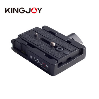 KH6251 Fast Mounting Plate PTZ Fast Board Clamp Seat Photographic Equipment PTZ Accessories Compatible Manfrotto Fast Board