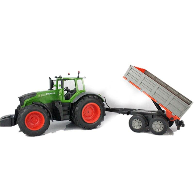 RC грузовик ферма 2,4 г дистанционное управление прицеп грабли 1:16 Высокая моделирования 38,5 см строительный автомобиль детские игрушки хобби