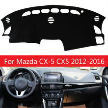 For Mazda CX-5 CX5 2012 2013 2014 2015 2016 Dashboard Cover Mat Pad Dashmat Sun Shade Instrument Carpet Car Styling Accessories(China)