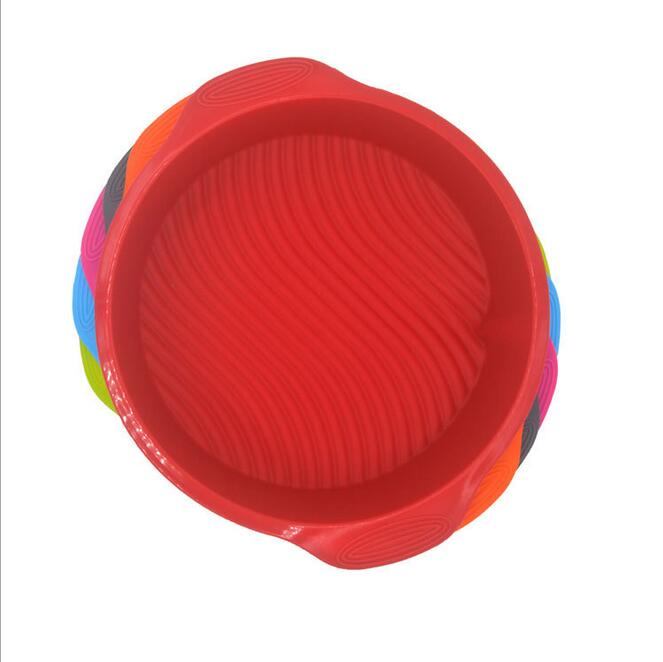 High-Quality §D Silicone Round Baking Tray Cake Tin 4