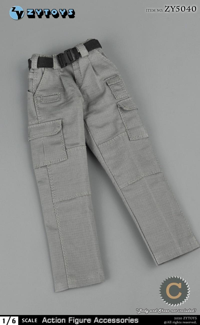 ZYTOYS ZY5040 1//6 Man PMC Shirt Combat Pants Clothes Fit 12/'/' TBL PH Figure Body