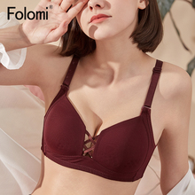 Wire Free Bra Thin Cup Sexy Lingeire for Women Hollow Out Lightly Lined Bras 32 to 40