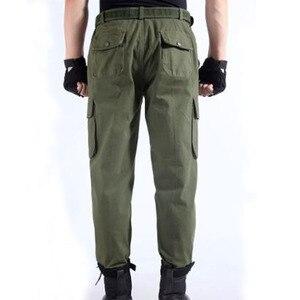 Image 2 - Spodnie robocze męskie naprawa samochodów zabezpieczenie w pracy spawanie fabryka odzież robocza spodnie bawełniane odzież ochronna spodnie