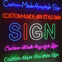 Factory Custom LED Neon Sign Light Flex Neon  HandMade Beer Bar Shop Logo Pub Store Club Nightclub