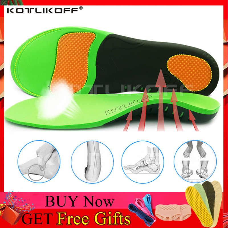 Melhor ortopédico sapatos sola palmilhas para sapatos arco pé almofada x/o tipo correção perna plana pé arco apoio esportes sapatos inserções