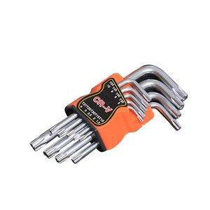 9 Pcs Plum Star Hex Key Wrench