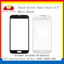 цена на 10Pcs/lot Touch Screen For Samsung Galaxy S5 Mini G800F G800H G800 Touch Panel Front Outer S5 MINI LCD Glass Lens Replacement