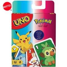 Mattel games uno: Покемон меч и щит карточная игра Семейные
