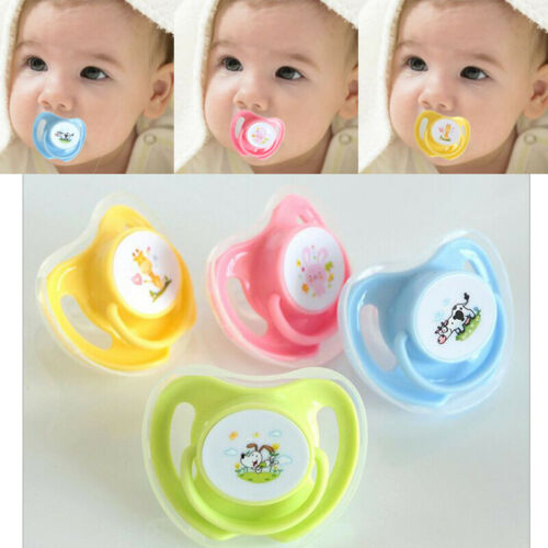1x Newborn Baby Pacifier Mam Silicone Soother Dummies Orthodontic Teether Nipple
