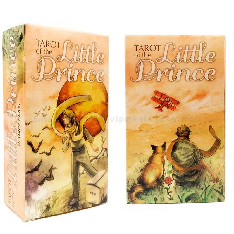Tarots of the Little Prince Whimsical Loosely 78 carte da mazzo guida Fate galaxation gioco da tavolo per feste in famiglia