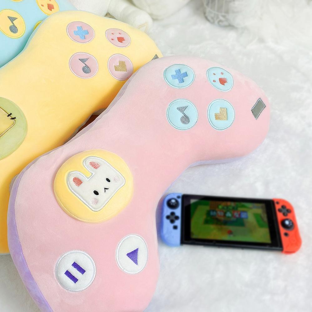 Kawaii Game Console Controller Pillow Plush 2