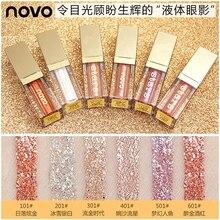 NOVO Glitter Liquid Eyeshadow Makeup Gel Eye Shadow Make Up 4.5ml Diamond Color