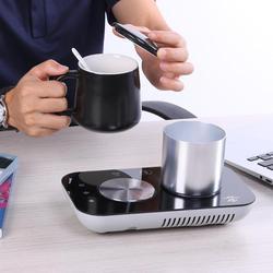 Hot Sale Warm Cup Heating Mat Wear resistant ZLP003B Portable USB Electric Cup Warmer Tea Coffee Beverage Cup Heating Pad Mat w Moduły automatyki domowej od Elektronika użytkowa na