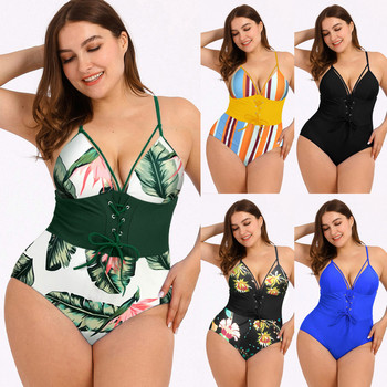 2020 - Newest Women Swimsuits Sexy One Piece - Swimwear Brazilian Woman Painting Floral 1