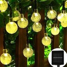 2 м 20 светодиодов водонепроницаемый Рождественский Хрустальный
