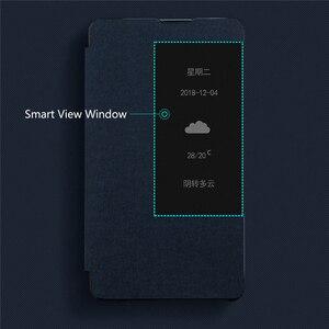 Image 4 - Smart Window View Stand Flip Case Cover Met Pen Houder Voor Huawei Mate 20 X/Mate 20X 5G mobiele Telefoons