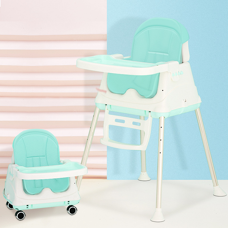 Baby Dinner High Chair Dining Table Kids Chair Children Mesa Infantil Dining Chair Portable Folding Para Bebe BB Learning Chair