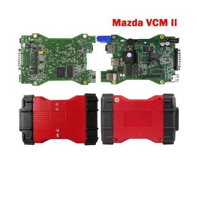 Najlepsza jakość VCM2 V115 OBDII narzędzie diagnostyczne do samochodów dla m azda VCM II IDS System diagnostyczny VCMII OBD2 narzędzie skanera diagnostycznego