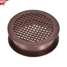 Cover Vent for Cupboard Shoebox 10pcs 06 Mesh-Hole Brown Dia-Mm-Height Round Plastic