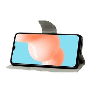 Image 5 - Etui z klapką do Samsung Galaxy A12 sFor Samsung A 12 A125 SM A125F magnetyczny stojak telefony ochronne powłoki portfel torby