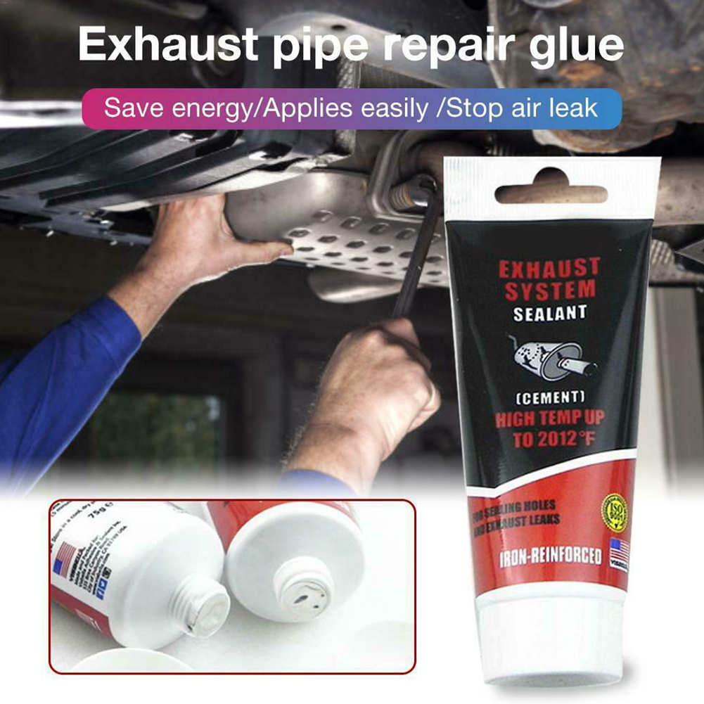 75g Accessories Automobile Sealant Car Repair High Temperature Adhesive Fireproof Paste Easy Apply Muffler Exhaust Pipe