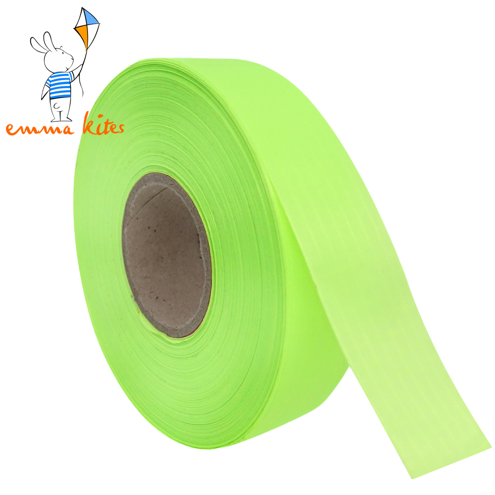 1in X 100 Yards Ripstop Nylon Strip Non Adhesive 40D Tape For Kite Tails Making Edge Binding DIY Cloth Projects