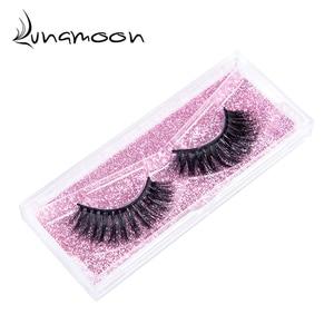 Image 2 - 3D Mink Hair sztuczne rzęsy naturalne/grube długie rzęsy Wispy Makeup Beauty Extension Tools