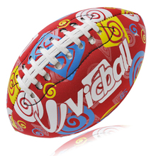 New 2019 Rugby Sports Balls Diving material Neoprene Cloth Size 6# Rubber American Durable Football  For Outdoor Training