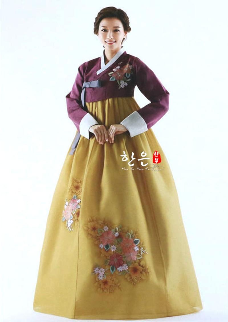 2019 Korea Original Hand Embroidery Hanbok / Wedding Hanbok / Traditional Hanbok / Authentic Spot Hanbok Hallowen Cosplay Gift