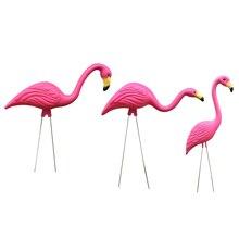 MagiDeal Реалистичный Большой Розовый Фламинго Сад Украшение Газон Орнамент Дом Полка Дисплей Рука Ремесло Подарок