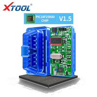 XTOOL ELM327 pic18f25k80 Bluetooth v1.5 super mini elm 327 OBD2 For Android Torque code readers auto scanner tool car diagnostic