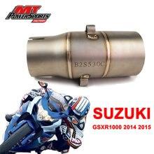 Для suzuki gsxr1000 2014 2015 Модифицированная выхлопная труба
