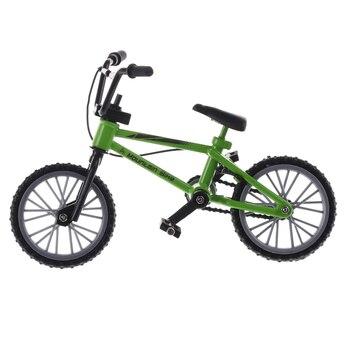 Mini dedo Bmx bicicleta juguetes para niños Scooter 3 colores aleación bicicleta monopatines para dedos bicicletas niños juguetes niños regalo