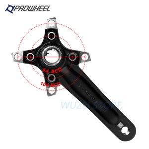 Image 4 - PROWHEEL 104BCD MTB Bike Crankset stop aluminium z dolnym korbą rowerową MTB korba akcesoria rowerowe 170mm 175mm
