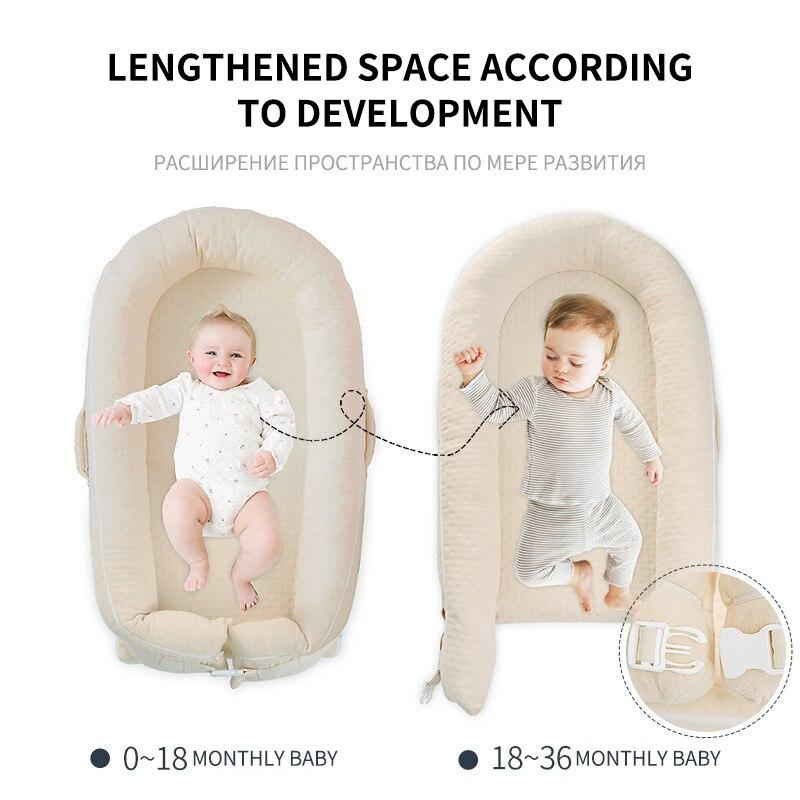 Детская кровать для сна; детская кроватка; Комплект постельного белья; детская игрушка головоломка; подвесная кукла; детская кровать для пу... - 4