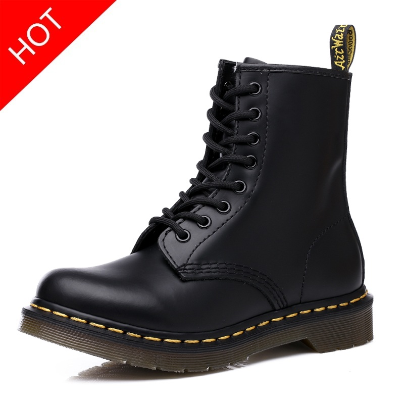 2019 Fur Men Boots For Martin Boots Male Shoes Adult Dr Motocycle Warm Ankle Boots Coturno Winter Shoes Men Shoes Plus Size 46