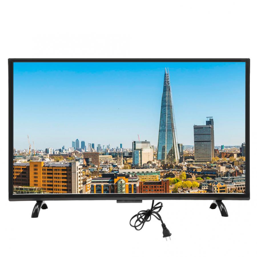 Tv-Network-Version Curved-Screen Vga-Input Smart 43inch 4K HDMI HDR 3000R 110V-220V Large title=